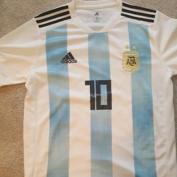 size 40 239c5 03c98 Adidas Messi Soccer Shirt Men's Med SALE!